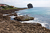 Big rock on the coast of Kenting, Taiwan, Republik China, Asia