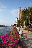 Promenade at the Loveriver in Kaohsiung, Taiwan, Republik China, Asia