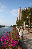 Promenade am Liebesfluss in Kaohsiung, Taiwan, Republik China, Asien