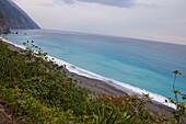 Steilküste bei Hualien, Taiwan, Republik China, Asien
