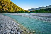 Turquoise river Velika Pisnica, Kranjska Gora, Gorenjska, Triglav National Park, Julian Alps, Slovenia, Europe