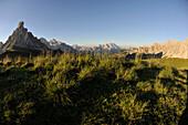 La Gusella di Giau, View to Tofana Mountains, Dolomites, South Tyrol, Italy