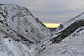 Descend from the Schneealm, Styria, Austria