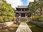 Japanese zen temple, Kyoto, Japan
