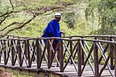 'Footbridge to the Emakoko lodge, Uhuru Gardens; Nairobi, Kenya'