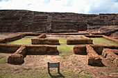 Ladder Platforms On The Carved Stone Hill Of El Fuerte De Samaipata, Santa Cruz Department, Bolivia