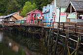 Alaska, Inside Passage, Southeast Alaska, Ketchikan, Creek Street