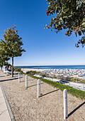 beach at Kuehlungsborn, Mecklenburg-Vorpommern, Ostsee, Germany