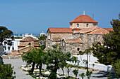 Temple of Panaya of Ekatontapiliani, Parikia, Paros island, Southern Aegean sea, Cyclades, Greek Islands, Greece, Europe