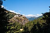 Village Fort Queyras, Departement Hautes-Alpes, Region Provence-Alpes-Cote d'Azur, Alps, France, Europe