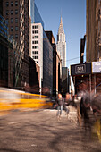 5th Avenue, Chrysler Building, Midtown, Manhattan, New York, USA