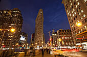 23rd street, Flatiron Building, Madison Square Park, Manhattan, New York, USA