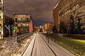 Highline Park, Chelsea,Manhattan, New York, USA