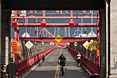 Williamsburg Bridge, Manhattan, New York, USA
