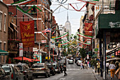 Little Italy, Empire State Building, Manhattan, New York, USA