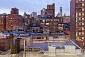 Knickerbocker Village, Downtown, Manhattan, New York, USA