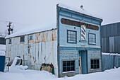 Flora Dora Hotel, Dawson City, Yukon, Yukon Territory, Canada