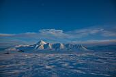 Mount Vines 4,612 ft, near Dempster Highway, Yukon, Yukon-Territorium, Canada