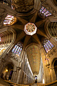 Ely Cathedral Interior, lantern and nave, Ely, Cambridgeshire, England, United Kingdom, Europe