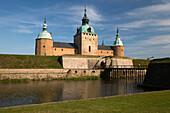 Kalmar Slott castle, Kalmar, Smaland, Baltic coast, Southeast Sweden, Sweden, Scandinavia, Europe