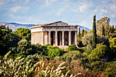 Temple of Hephaestus, Greek Orthodox church of St. George Akamates, Athens, Greece