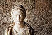 Statue of a Roman matron, Ancient Agora Museum, Athens, Greece