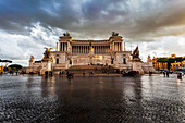 National Monument honouring Victor Emmanuel, known as the Altar of the Fatherland, Rome, Italy
