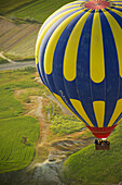 Sunrise balloon ride over Goreme National Park, Cappadocia, Turkey