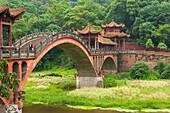 Leshan Giant Buddha scenic area, Sichuan Province, China