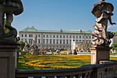 Mirabell Palace, Mirabell Garden, the historical center of the city of Salzburg, a UNESCO World Heritage Site, Austria