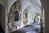 Cloister Franciscan monastery, a UNESCO World Heritage Site city of Graz - Historic Centre, Steiermark, Austria