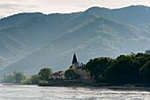 Oberarnsdorf an der Donau, UNESCO Welterbestätte Die Kulturlandschaft Wachau, Niederösterreich, Österreich