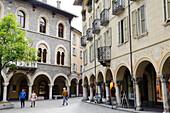 Old Town of Bellinzona, Ticino, Switzerland