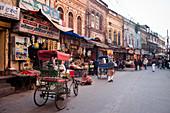 Street scene in Old Delhi, Delhi, India