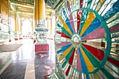 Bawgyo Pagoda, a temple at Hsipaw Thibaw, Shan State, Myanmar Burma, Asia