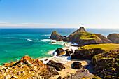 Kynance Cove, Lizard, Cornwall, England, United Kingdom, Europe