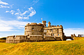 Pendents Castle, Falmouth, Cornwall, England, United Kingdom, Europe