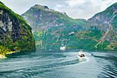 Gerainger Fjord, UNESCO World Heritage Site, Norway, Scandinavia, Europe
