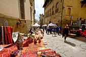 Monthly Antique Market, Arezzo, Tuscany, Italy, Europe