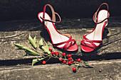 Women's high heel dress shoes
