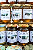 honey from the causses region, (prairie and multi-floral honey), products of the land, gages (12), france