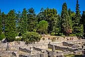 ancient roman site of puymin, vaison la romaine, vaucluse (84), paca, provence alpes cote d'azur, france