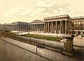 British Museum, London, England, UK, Photochrome Print, circa 1901