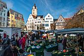 Market Place, Jena, Thuringia, Germany, Europe
