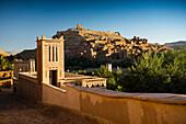 Kasbah Aït-Ben-Haddou, UNESCO World Heritage Site, Aït-Ben-Haddou, near Ouarzazate, Region Souss-Massa-Draâ, Sahara Desert, Morocco