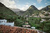 cosy village Hermigua, La Gomera, Canary Islands, Spain