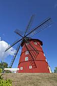 Wind mill in Strängnäs by the lake Mälaren, Södermanland, South Sweden, Sweden, Scandinavia, Northern Europe, Europe