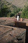 Bet Giyorgis church, Lalibela Rock Hewn Churches, UNESCO World Heritage Site, Northern Ethiopia, Africa