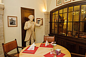 Restaurant in Hotel Elephant, Weimar, Thuringia, Germany