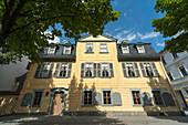Schiller Museum, Schillerstrasse, Weimar, Thuringia, Germany